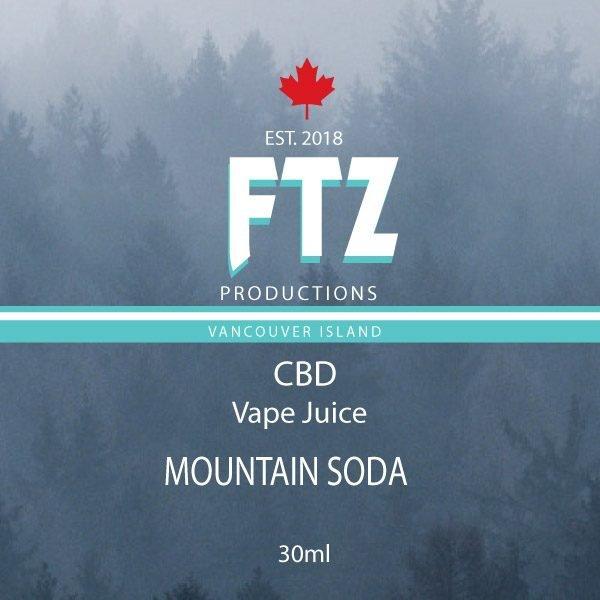 Mountain Soda Vape Juice FTZ Productions