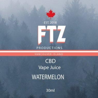 Watermelon Vape Juice FTZ Productions
