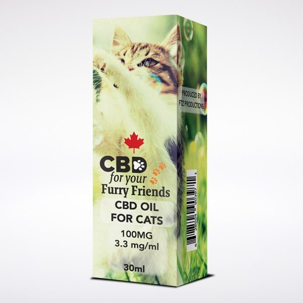 CBD Hemp Oil Pets Cat