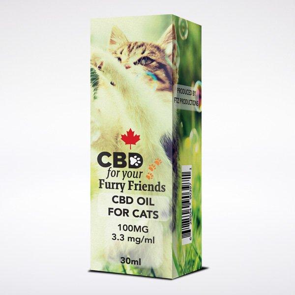 CBD Hemp Oil Pets Cat