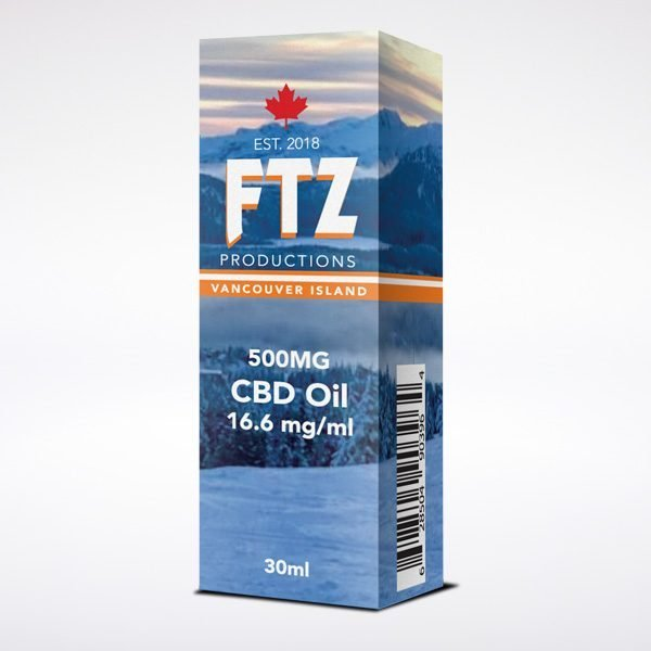CBD Hemp Oil Canada 500mg