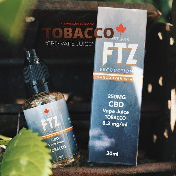 CBD Vape Juice Tobacco