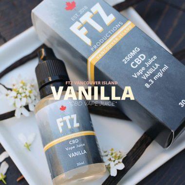 CBD Vape Juice Vanilla