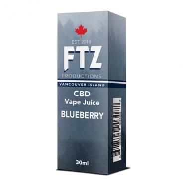 Vape Juice - Blueberry